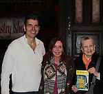 "Joe Barbara - Jacklyn Zeman (General Hospital) pose with actress Dana Ivey (who was also on Another World). Another World and AMC Joe Barbara stars in The Bronx Tale, The New Musical  at the Longacre Theatre, New York City, New York. On January 19, 2017 General Hospital's Jacklyn Zeman ""Bobbie Spencer"" & Dana Ivey came to see the musical and went backstage to see Joe Barbara and cast. Photos were taken on the stage. (Photo by Sue Coflin/Max Photos)"