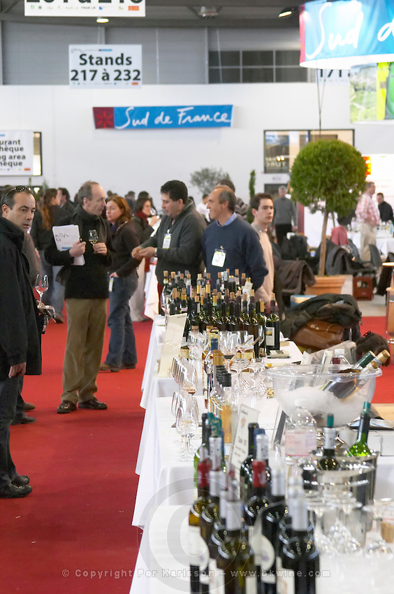 millesime bio wine fair montpellier france