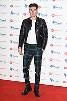 Isaac Carew at the Virgin Money Giving Mind Media Awards at the Odeon Leicester Square, London, UK. <br /> 13 November  2017<br /> Picture: Steve Vas/Featureflash/SilverHub 0208 004 5359 sales@silverhubmedia.com