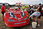 Feb 11, 2009; 4:20:21 PM; Barberville, FL, USA; UMP DIRTcar Racing Series for the 38th Annual ALLTEL DIRTcar Nationals by UNOH at Volusia Speedway Park.  Mandatory Credit: (thesportswire.net)
