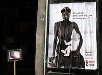 19 LUG 2001 Genova: vertice G8, controvertice Genoa Social Forum, la zona rossa. © Almasio & Cavicchioni