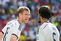 (L-R) Per Mertesacker, Sami Khedira (GER), JUNE 16, 2014 - Football / Soccer : FIFA World Cup Brazil 2014 Group G match between Germany 4-0 Portugal at Arena Fonte Nova in Salvador, Brazil. (Photo by Maurizio Borsari/AFLO)