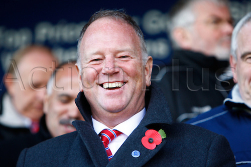 27.10.2012 Dagenham, England: ..Tony Knight Director of Aldershot Town..in action during the League Two match between Dagenham and Redbridge & Aldershot Town from The L.B Barking & Dag Stadium, Victoria Road..