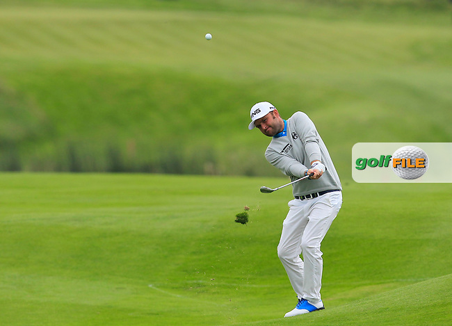 Andy Sullivan (ENG) on the 9th fairway during Round 4 of the 100th Open de France, played at Le Golf National, Guyancourt, Paris, France. 03/07/2016. <br /> Picture: Thos Caffrey | Golffile<br /> <br /> All photos usage must carry mandatory copyright credit   (&copy; Golffile | Thos Caffrey)