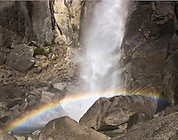Lower Yosemite Falls Rainbow