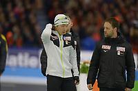 SCHAATSEN: HEERENVEEN: 15-12-2018, ISU World Cup, 500m Men Division A, Johan de Wit (coach JPN), ©foto Martin de Jong