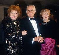 Lucille Ball, Art Carney, Joyce Randolph, 1987, Photo By Michael Ferguson/PHOTOlink
