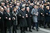 Gedenkfeier auf dem Maidan mit Gauck, Tusk, Poroshenko ein Jahr Revolution / one year maidan celebration 22.02.2015