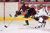 Matt Verdone, Joe Rooney - The Boston College Eagles and Ferris State Bulldogs tied at 3 in the opening game of the Denver Cup on Friday, December 30, 2005, at Magness Arena in Denver, Colorado.  Boston College won the shootout to determine which team would advance to the Final.