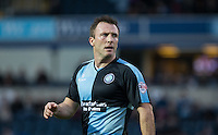 Garry Thompson of Wycombe Wanderers during the Sky Bet League 2 match between Wycombe Wanderers and Oxford United at Adams Park, High Wycombe, England on 19 December 2015. Photo by Andy Rowland.