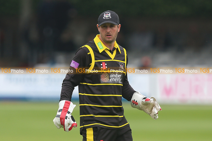 Phil Mustard of Gloucestershire during Essex Eagles vs Gloucestershire, Royal London One-Day Cup Cricket at The Cloudfm County Ground on 4th May 2017