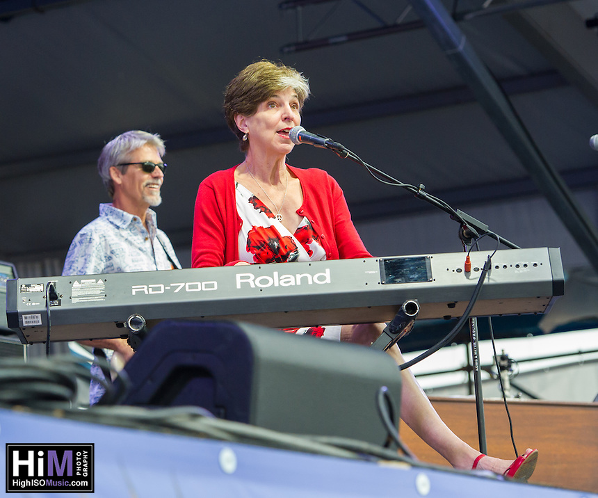 Marcia Ball and her band perform at the 2013 Jazz and Heritage Festival in New Orleans, LA on May 3, 2013.  © HIGH ISO Music, LLC / Retna, Ltd.