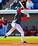 3 March 2009: Washington Nationals' center fielder Roger Bernadina in action during a Spring Training exhibition game against Italy at Space Coast Stadium in Viera, Florida. The Nationals defeated Italy 9-6. Mandatory Photo Credit: Ed Wolfstein Photo