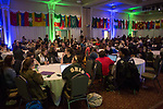 People gather in Baker Ballroom to listen to Eric Weiner present during International Education Week on Nov. 16, 2017.