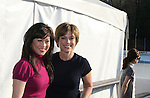 Kristi Yamaguchi & Dorothy Hamill at Skating with the Stars (celebrities & Olympic skaters), a benefit gala for Figure Skating in Harlem on April 6, 2010 at Wollman Rink, Central Park, New York City, New York. (Photo by Sue Coflin/Max Photos)