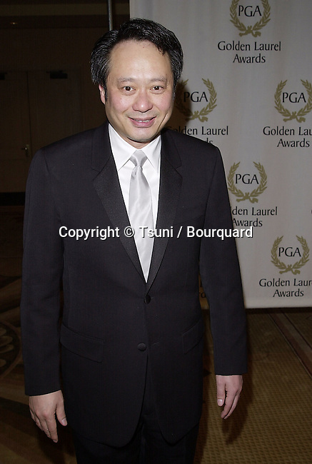 Ang Lee arriving  at the Producer Guild Awards 2001 at the Century Plaza in Los  Angeles. 3/3/2001   © Tsuni          -            LeeAng01.jpg