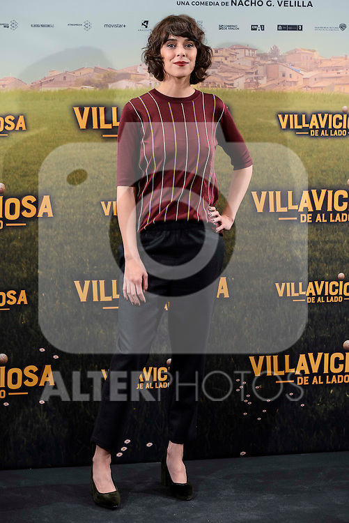 "Belen Cuesta attends to the presentation of the spanish film "" Villaviciosa de al lado"" in Madrid, Spain. November 29, 2016. (ALTERPHOTOS/BorjaB.Hojas)"