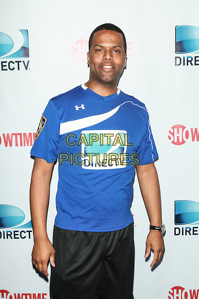 NEW YORK, NY - FEBRUARY 1: A. J. Calloway attends the DirecTV Beach Bowl at Pier 40 on February 1, 2014 in New York City. <br /> CAP/MPI/COR<br /> &copy;Corredor99/ MediaPunch/Capital Pictures