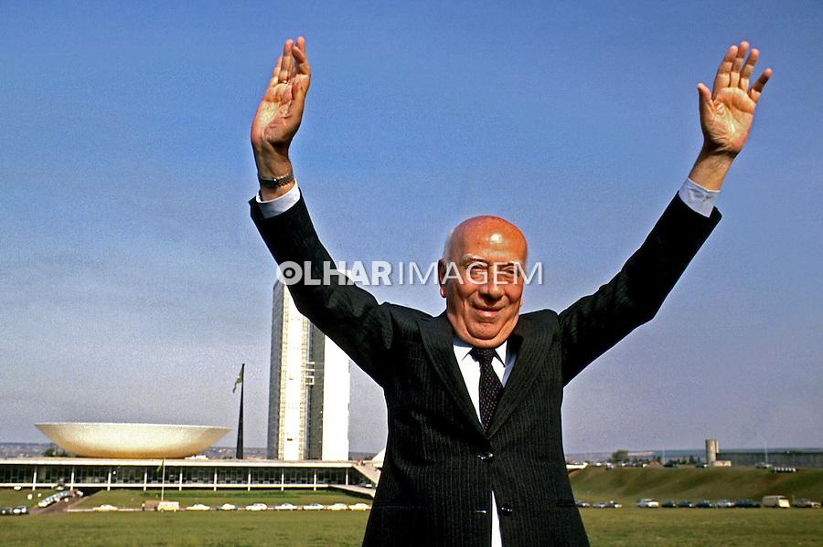 Ulysses Guimarães, Político. Brasília. 1988. Foto de Paula Simas.