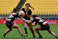 Amanda Rasch of Wellington in action during the Farah Palmer Cup - Wellington Pride v Counties Heat at Westpac Stadium, Wellington, New Zealand on Sunday 15 September 2019. <br /> Photo by Masanori Udagawa <br /> www.photowellington.photoshelter.com