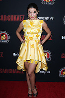 """HOLLYWOOD, LOS ANGELES, CA, USA - MARCH 20: Yvette Yates at the Los Angeles Premiere Of Pantelion Films And Participant Media's """"Cesar Chavez"""" held at TCL Chinese Theatre on March 20, 2014 in Hollywood, Los Angeles, California, United States. (Photo by David Acosta/Celebrity Monitor)"""