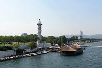 Donauinsel bei der Reichsbr&uuml;cke, Wien, &Ouml;sterreich<br /> Danuvia Isle near Reichsbr&uuml;cke, Vienna, Austria