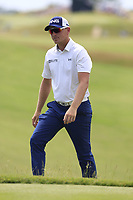 Matt Wallace (ENG) walks to the 10th tee during Friday's Round 2 of the 117th U.S. Open Championship 2017 held at Erin Hills, Erin, Wisconsin, USA. 16th June 2017.<br /> Picture: Eoin Clarke | Golffile<br /> <br /> <br /> All photos usage must carry mandatory copyright credit (&copy; Golffile | Eoin Clarke)