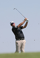 Peter Hanson (SWE) playing down the 9th fairway during thePro-Am of the 2015 Alstom Open de France, played at Le Golf National, Saint-Quentin-En-Yvelines, Paris, France. /01/07/2015/. Picture: Golffile | David Lloyd<br /> <br /> All photos usage must carry mandatory copyright credit (&copy; Golffile | David Lloyd)