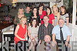 CHRISTMAS FUN: The staff of Holy Family NS, Tralee enjoying a great time at their Christmas party at Kirby's Brogue Inn on, Tralee on Friday front Fr Patsy Lynch. Seated l-r: Amy McCarthy, Niamh Shanahan, Ed O'Brien and Sean Lyons. Back l-r: Alice Carmody, Norbert Hausser, Linda Hanafin, Claire Dempsey, Teresa Murphy, Louise Quill and Elaine O'Sullivan.