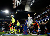 25th February 2020; Stamford Bridge, London, England; UEFA Champions League Football, Chelsea versus Bayern Munich; Goalkeeper Manuel Neuer of Bayern Munich walking onto the pitch from the tunnel