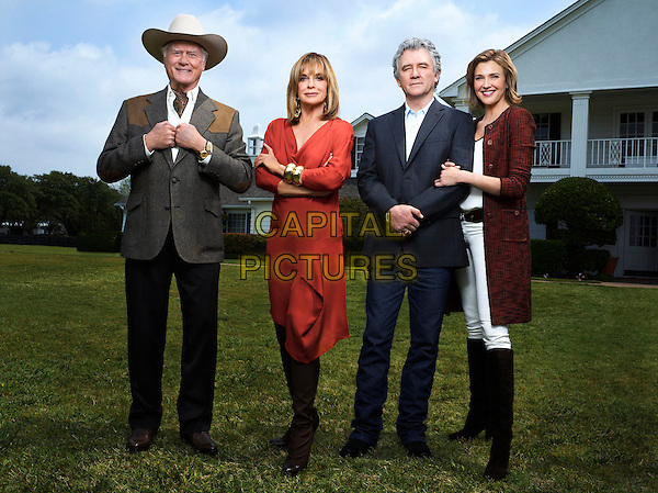 LARRY HAGMAN, LINDA GRAY, PATRICK DUFFY & BRENDA STRONG.in Dallas (2012) .*Filmstill - Editorial Use Only*.CAP/NFS.Supplied by Capital Pictures.