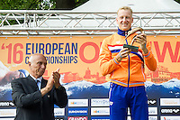 WEERTMAN Ferry NED awarde with the LEN Trophy as Open Water Swimmer of the Year<br /> Hoorn, Netherlands <br /> LEN 2016 European Open Water Swimming Championships <br /> Open Water Swimming<br /> Men's 5km<br /> Day 02 12-07-2016<br /> Photo Giorgio Perottino/Deepbluemedia/Insidefoto