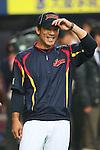 Kazuo Matsui (JPN), .February 26, 2013 - WBC : .2013 World Baseball Classic, Exhibithion Game .match between Japan 0-1 Hanshin Tigers  .at Kyocera Dome, Osaka, Japan..(Photo by AJPS/AFLO SPORT)