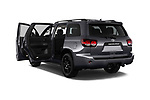 Car images close up view of a 2018 Toyota Sequoia TRD Sport 5 Door SUV doors