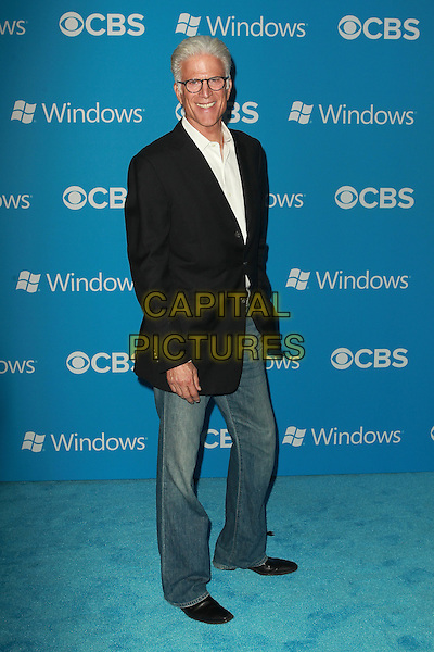 Ted Danson.CBS 2012 Fall Premiere Party Held at At Greystone Manor, West Hollywood, California, USA.  .September 18th, 2012.full length black suit jacket white shirt jeans denim glasses .CAP/ADM/FS.©Faye Sadou/AdMedia/Capital Pictures.