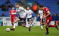 Bolton Wanderers' Josh Vela competing with Walsall's George Dobson<br /> <br /> Photographer Andrew Kearns/CameraSport<br /> <br /> Emirates FA Cup Third Round - Bolton Wanderers v Walsall - Saturday 5th January 2019 - University of Bolton Stadium - Bolton<br />  <br /> World Copyright &copy; 2019 CameraSport. All rights reserved. 43 Linden Ave. Countesthorpe. Leicester. England. LE8 5PG - Tel: +44 (0) 116 277 4147 - admin@camerasport.com - www.camerasport.com