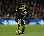 Eden Hazard of Chelsea during the English Premier League match at the Riverside Stadium, Middlesbrough. Picture date: November 20th, 2016. Pic Simon Bellis/Sportimage