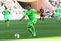 Milko Albornoz (Hannover 96) - 30.09.2018: Eintracht Frankfurt vs. Hannover 96, Commerzbank Arena, DISCLAIMER: DFL regulations prohibit any use of photographs as image sequences and/or quasi-video.