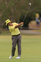 Brad Burns (AUS) on the 11th during Round 2 of the Australian PGA Championship at  RACV Royal Pines Resort, Gold Coast, Queensland, Australia. 20/12/2019.<br /> Picture Thos Caffrey / Golffile.ie<br /> <br /> All photo usage must carry mandatory copyright credit (© Golffile | Thos Caffrey)