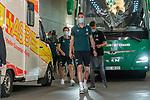 Jiri Pavlenka (Werder Bremen #01) Ankunft am Stadion<br /> <br /> <br /> Sport: nphgm001: Fussball: 1. Bundesliga: Saison 19/20: 33. Spieltag: 1. FSV Mainz 05 vs SV Werder Bremen 20.06.2020<br /> <br /> Foto: gumzmedia/nordphoto/POOL <br /> <br /> DFL regulations prohibit any use of photographs as image sequences and/or quasi-video.<br /> EDITORIAL USE ONLY<br /> National and international News-Agencies OUT.