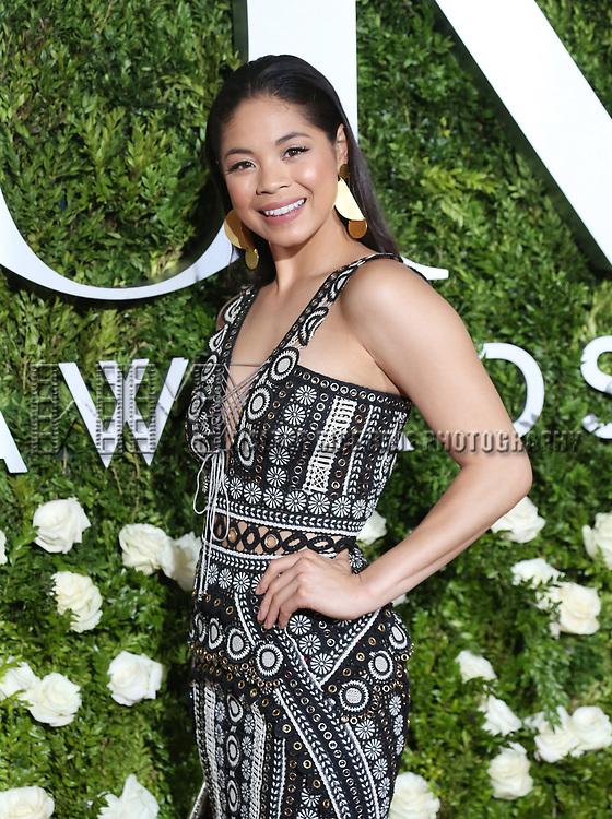 Eva Noblezada attends the 71st Annual Tony Awards at Radio City Music Hall on June 11, 2017 in New York City.
