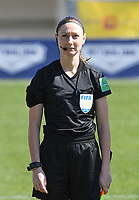 20190301 - LARNACA , CYPRUS : assistant referee Sian Masseypictured during a women's soccer game between Finland and Czech Republic , on Friday 1 March 2019 at the AEK Arena in Larnaca , Cyprus . This is the second game in group A for Both teams during the Cyprus Womens Cup 2019 , a prestigious women soccer tournament as a preparation on the Uefa Women's Euro 2021 qualification duels. PHOTO SPORTPIX.BE | DAVID CATRY