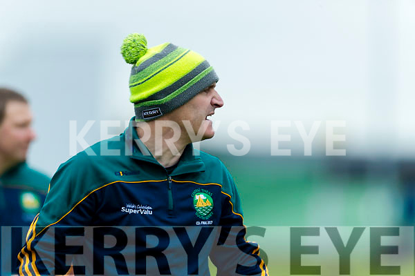 William Harmon South Kerry Manager in the Senior County Football Final in Austin Stack Park on Sunday