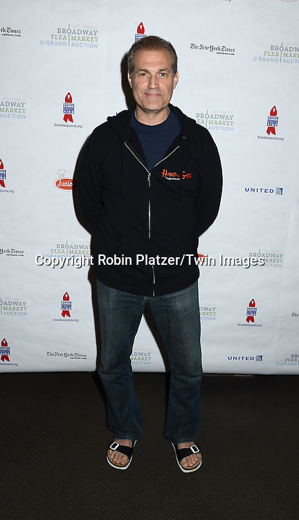 Mark Kudisch attends the 29th Annual Broadway Flea Market &amp; Grand Auction benefitting Broadway Cares/ Equity Fights Aids  at Shubert Alley on September 27, 2015 in New York, New York, USA.<br /> <br /> photo by Robin Platzer/Twin Images<br />  <br /> phone number 212-935-0770