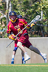 Los Angeles, CA 04/01/16 - Nate Galper (USC #4) in action during the University of Southern California and Loyola Marymount University SLC conference game  USC defeated LMU.