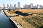 A view of the proposed site of Ariake Arena for the 2020 Tokyo Olympic and Paralympic Games is seen in Tokyo, Japan, on December 9, 2016. (Photo by Hiroyuki Ozawa/AFLO)