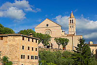 The Basilica of Saint Clare (Basilica di Santa Chiara), Assisi Italy