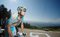 Assan Bazayev (KAZ)<br /> <br /> Tour de France 2013<br /> stage 20: Annecy to Annecy-Semnoz<br /> 125km