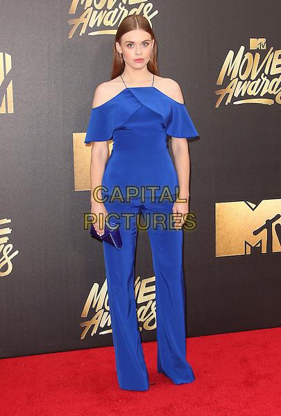 09 April 2016 - Burbank, California - Holland Roden. 2016 MTV Movie Awards held at Warner Bros. Studios. <br /> CAP/ADM/SAM<br /> &copy;SAM/ADM/Capital Pictures