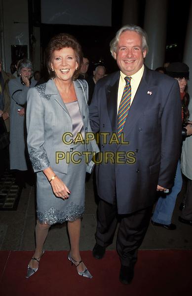 CILLA BLACK, CHRISTOPHER BIGGINS.Ref: 11183.www.capitalpictures.com.sales@capitalpictures.com.©Capital Pictures
